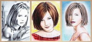 Girls from Buffy by whu-wei