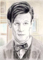 Matt Smith miniature by whu-wei