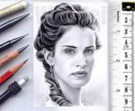 Poldark sketchcard by whu-wei