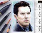 Khan sketchcard by whu-wei