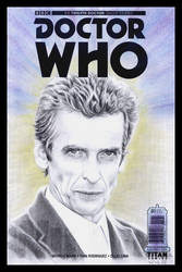 Doctor Who sketchcover by whu-wei