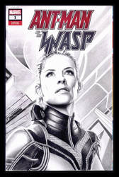 The Wasp sketchcover by whu-wei