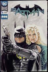 Batman sketchcover by whu-wei