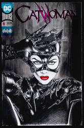 Catwoman sketchcover by whu-wei