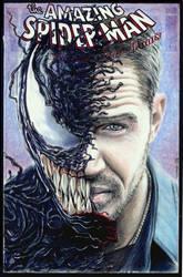 Venom sketch cover by whu-wei