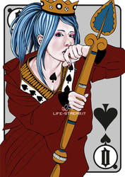 Queen of Spades by StrangeParadise