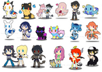 Gallery Chibis by SilviShinyStar