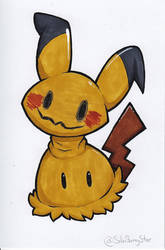 Copic Mimikyu by SilviShinyStar