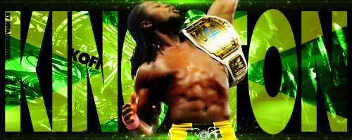WWE Kofi Kingston Signature by kitahforhtm