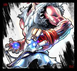 Ryu, Street Fighter by UsamahDraws