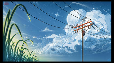 Electrical Lines by UsamahDraws