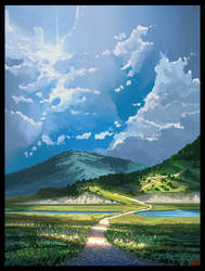 Hills by UsamahDraws