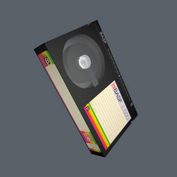 Retro3D - BASF Betamax Cassette by DevolutionEX
