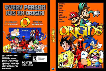 ORIGINS  Full Game Cover by AlmightyDF