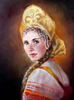 Russian Girl by Chashirskiy