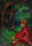 Little Red Riding Hood by Chashirskiy