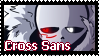 [Stamp]Cross Sans by Jey-Stamp