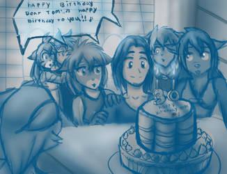 Toms Birthday by zahnholley