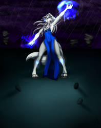 Lupa's Magic by zahnholley