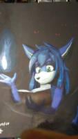 Reading in the dark by zahnholley