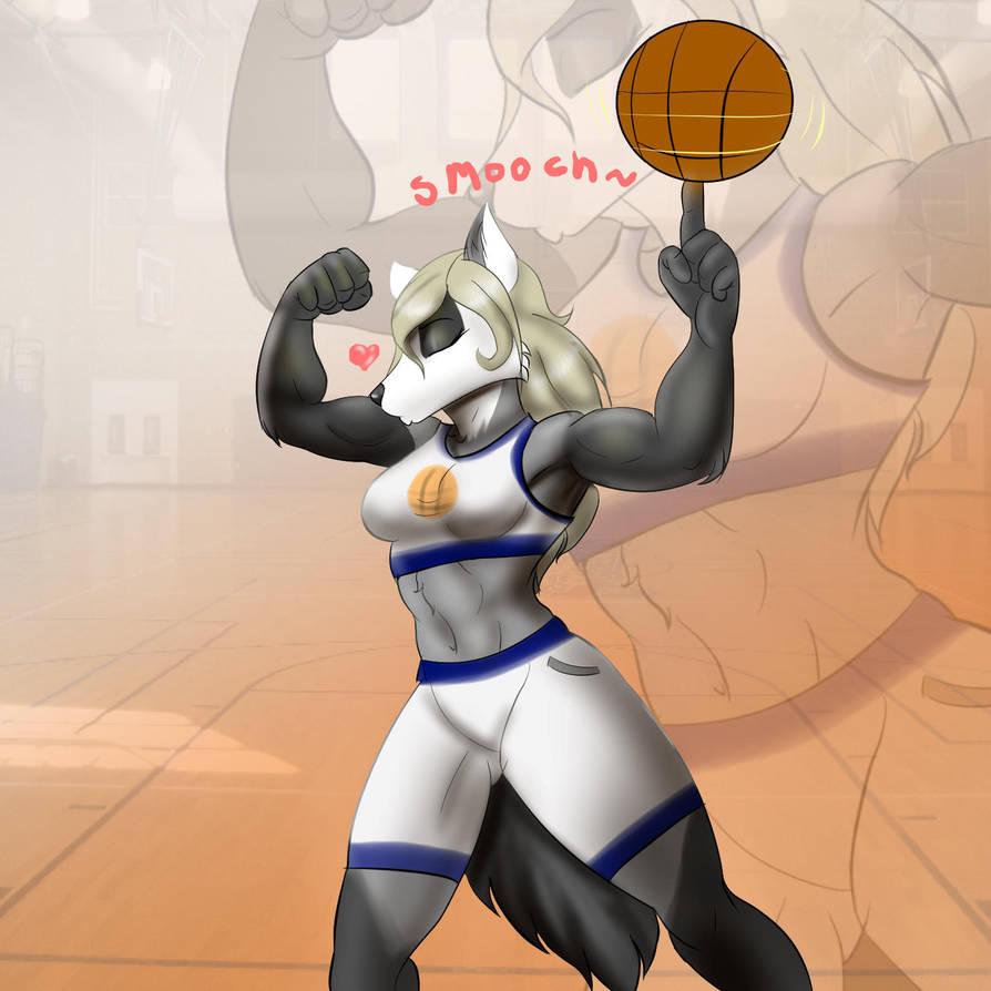Liz The Basket Ball Player by zahnholley