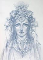 Princess_sketch by dimary