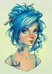 Blue bird by dimary