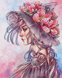Spring Wind Witch by dimary