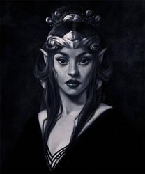 Elven Queen by dimary
