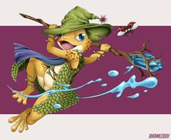 Magic Frog by Kamezdov