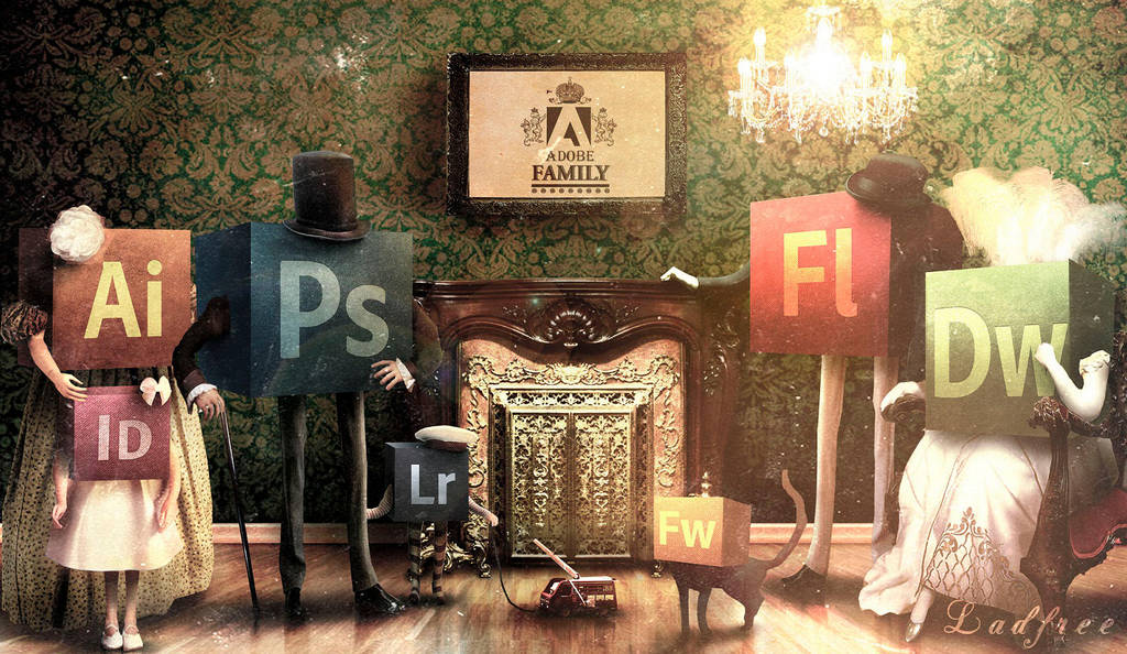 Adobe Family. 1882 by LadFree