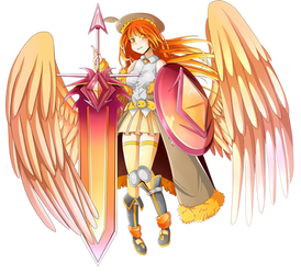 Phoenix Ami [Gacha World Portrait] by LunimeGames