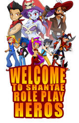 Shantae Role Play Heros by cutebutwrong