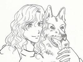 Lestat y Mojo by Miyucchi
