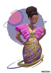 ModaAfrica- Lubetina Mak by Darsy