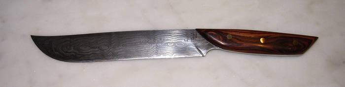 Knife 180layer finished by Silver11k