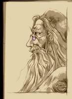 Professor Dumbledore by Xathanael