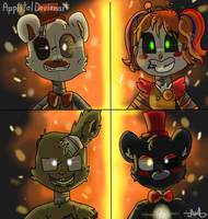 We Are Salvage! (FNAF 6) by Applitol