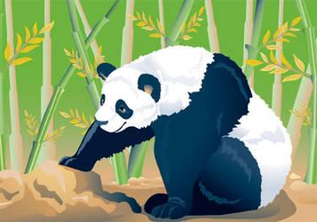 Panda Wu by artjenesis