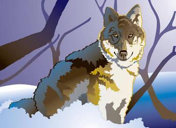 Lone Wolf by artjenesis