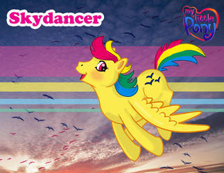 MLP: skydancer by artjenesis