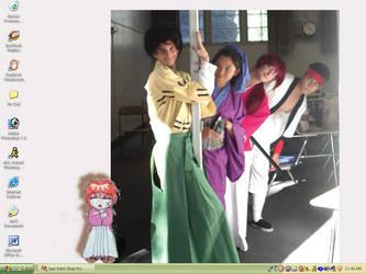 Kenshin desktop by artjenesis