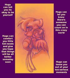 Sending you a Little Hug by artjenesis
