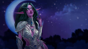 Tyrande WhisperWind by Amionna