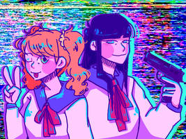 Pop Team Epic by YellowOmelette