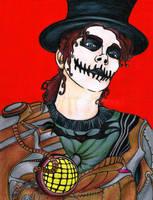 Sugar Skull Steampunk Me by kingjules71