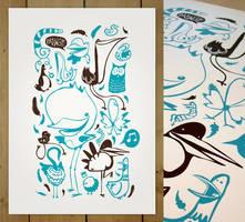 New Poster BIRDS by patswerk