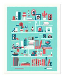 Shelf-portrait by patswerk