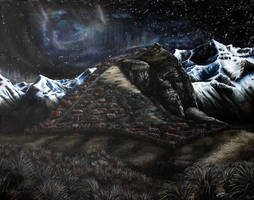 Stars Over Edoras by Hades-the-Mighty