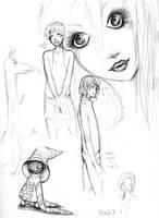 sketchbook page by sockmonkkey